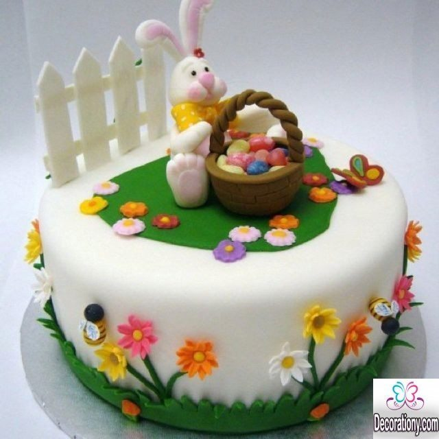 Easter Cake Decor Ideas : Cute Easter Bunny Cake Decorating Ideas - Decoration Y