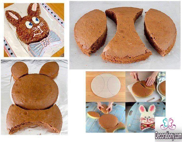 easy bunny cakes idea