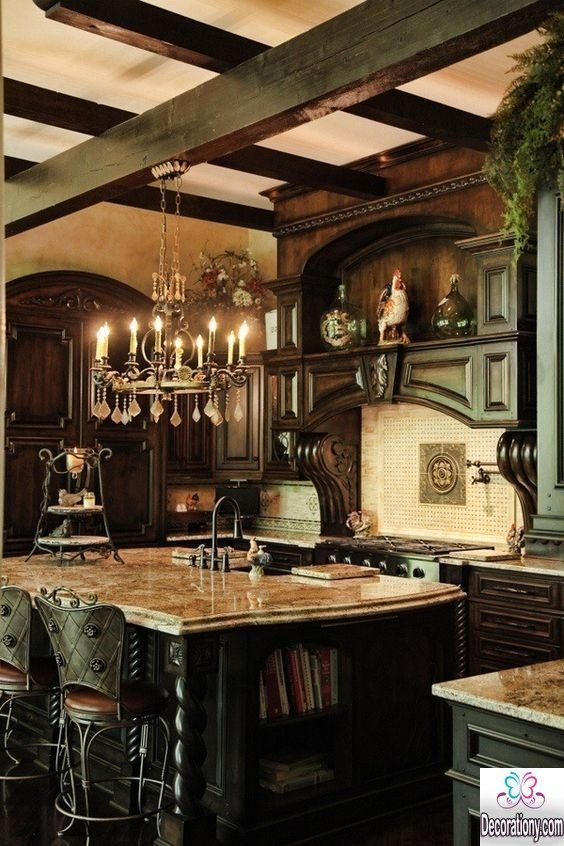 Top 43 luxury kitchens that will fascinate you decoration y - Chic french country inspired home real comfort and elegance ...