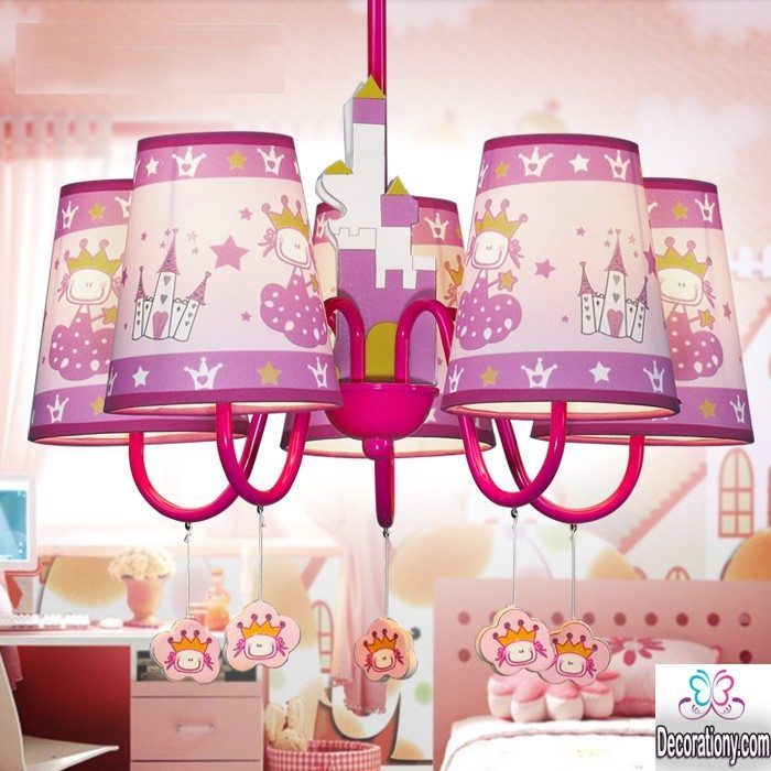 girls room chandeliers