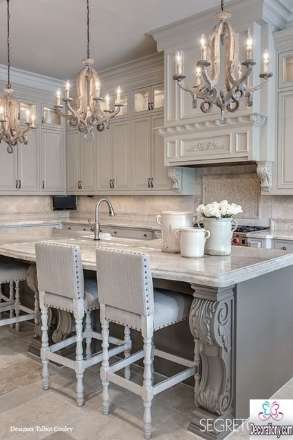 gray kitchen design