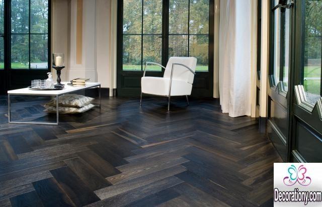home dark floors designs