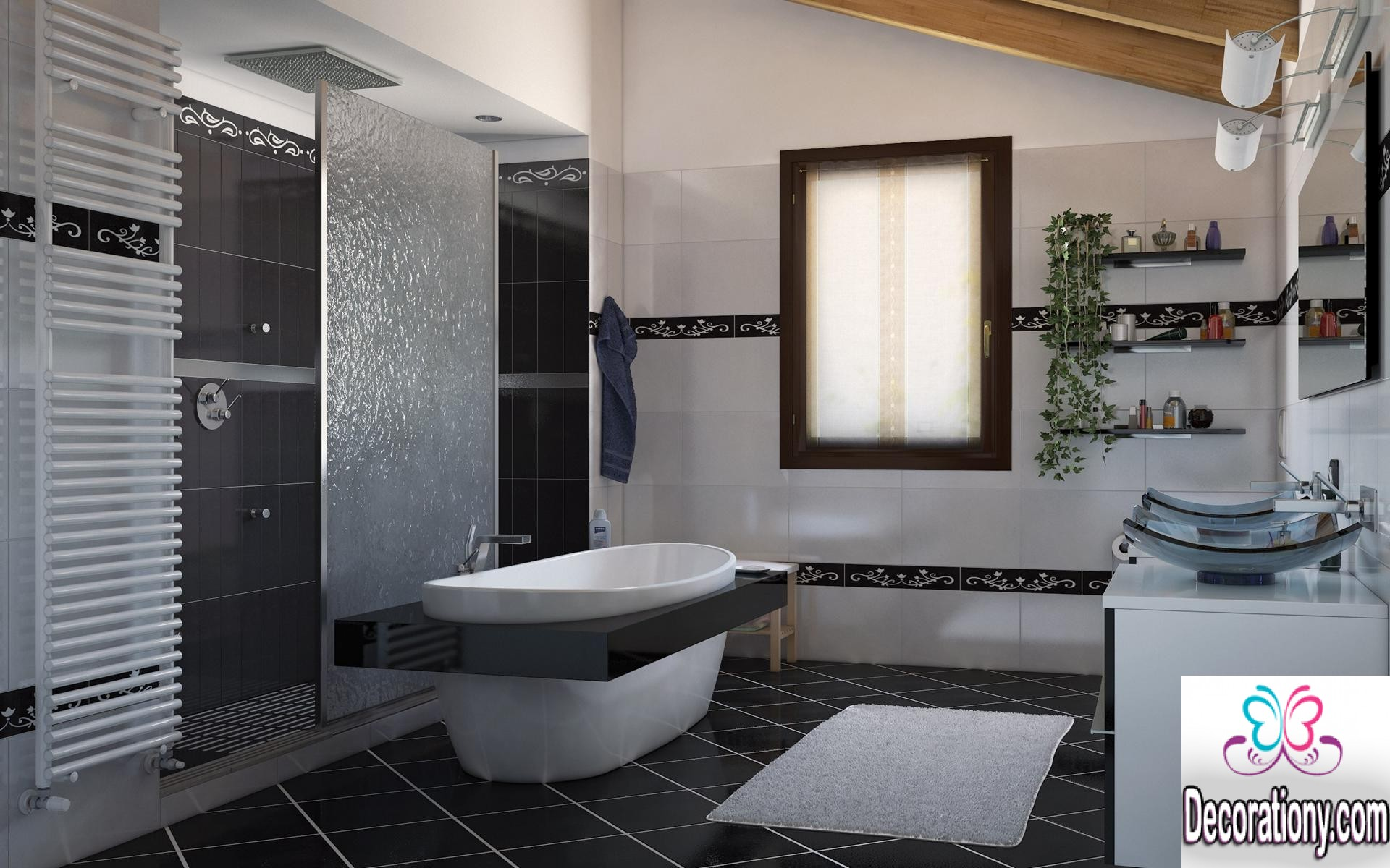 Best 15 modern bathroom design trends 2016 bathroom for Toilet and bath design