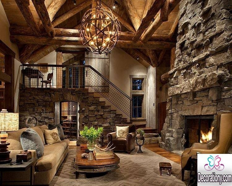 rustic living room ideas