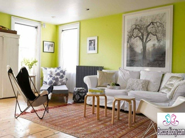 simple living room colors