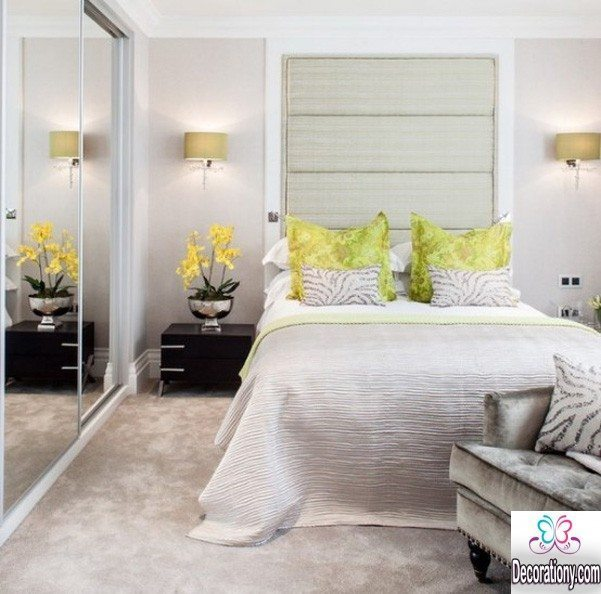 small bedroom ideas with mirror
