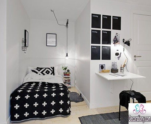 small bedroom ideas with workspace