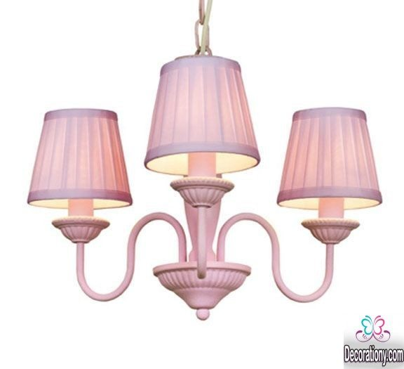 unique pink Chandelier