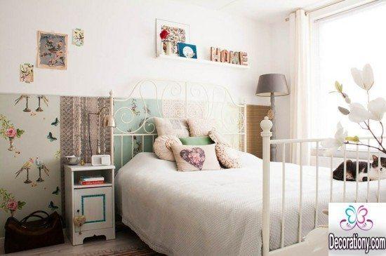 unique vintage bedroom