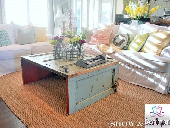 vintage living room style