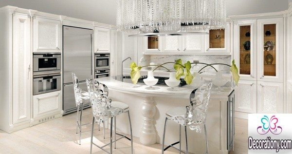 white Luxury Kitchens