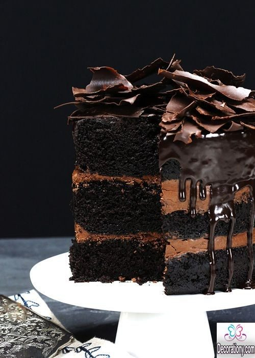 17 tasty chocolate cake recipe decorating ideas decorationy