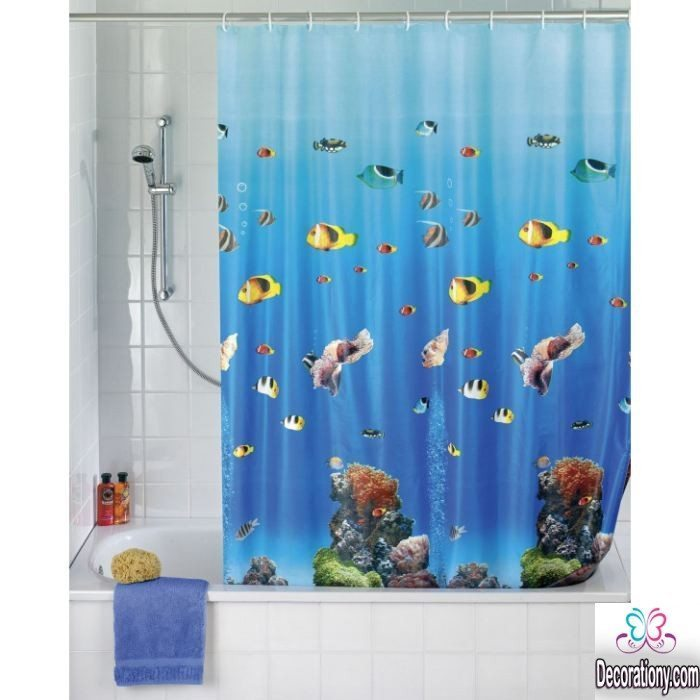 3d shower curtains