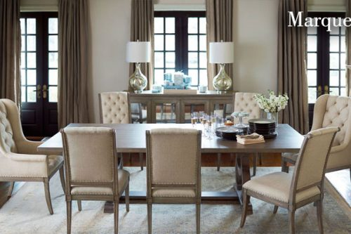 Bernhardt dining room