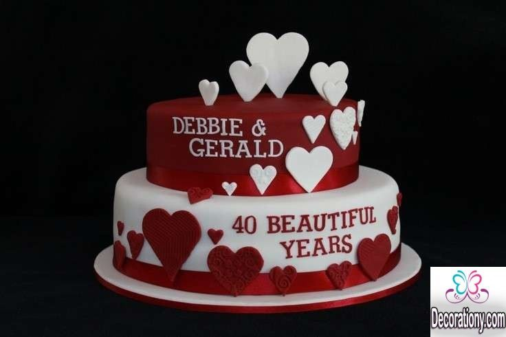 Cake Designs You Can Do At Home : 20 Romantic cake designs for wedding anniversary ...