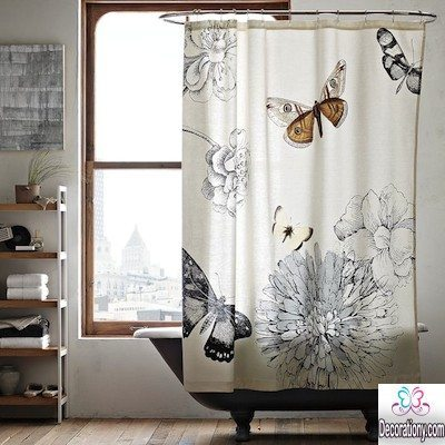 Amazing bathroom curtains ideas give the place more beauty decoration y - Bathrooms for all tastes ...