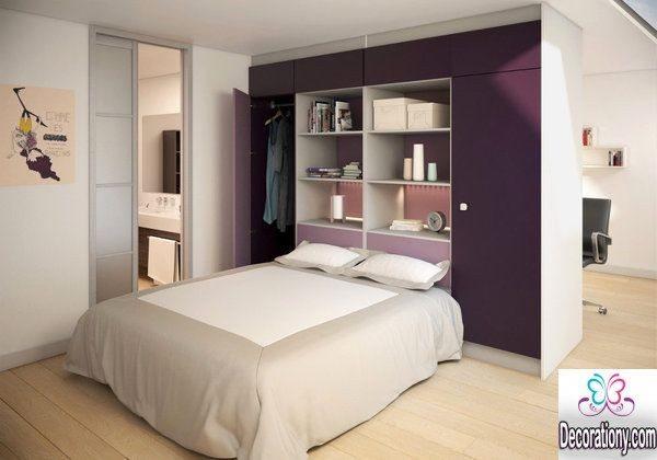 13 Creative Walk In Wardrobe Behind Bed Designs Decoration Y