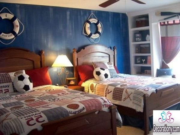 30 Cool Boys Room Paint Ideas