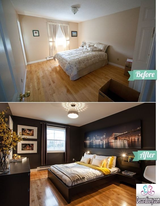 Inspirational Bedroom Makeover Before And After Ideas Bedroom