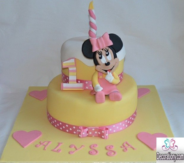 Best Design Cake Images : +15 Sweet 1st birthday cakes for girls - Birthday
