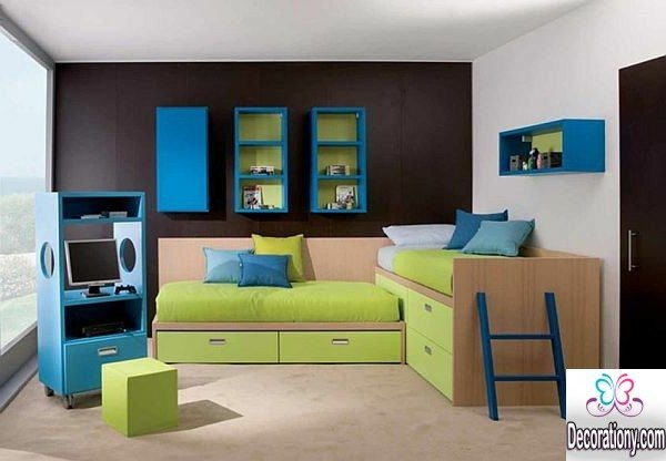 30 cool boys room paint ideas bedroom for Boys room paint ideas
