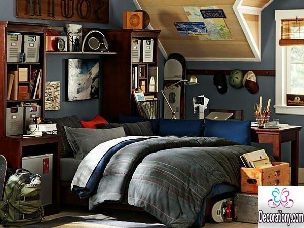 30 cool boys room paint ideas bedroom for Bedroom decor ideas 2016