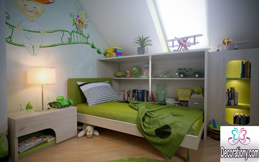 30 cool boys room paint ideas bedroom for Room design ideas for boy