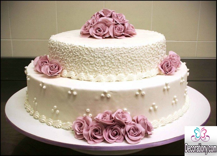 20 Romantic Cake Designs For Wedding Anniversary Decor Or Design