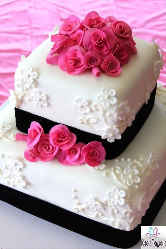 Cake K Design : 20 Romantic cake designs for wedding anniversary ...