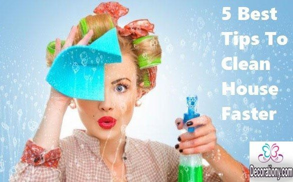 5 Best Tips To Clean House Faster