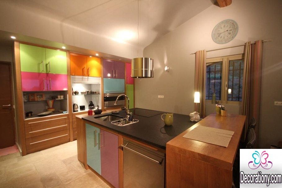 modern kitchen ideas in summer 2016 decoration y 25 colorful kitchens hgtv
