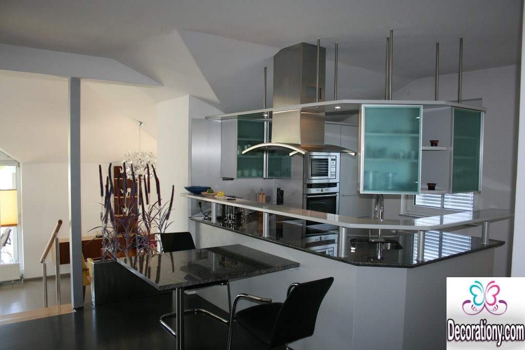 contemporary open kitchen design