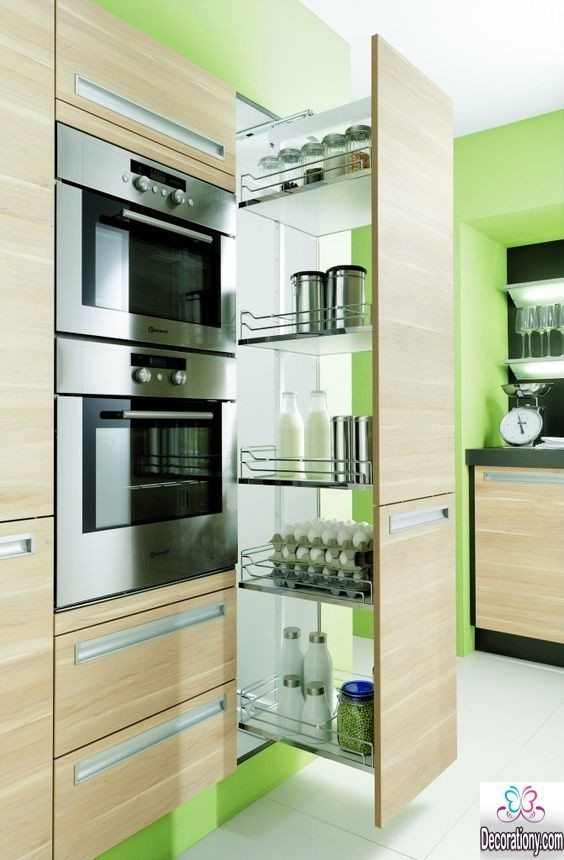 Perfect kitchen pantry cabinet ideas for more efficient for Perfect kitchen organization