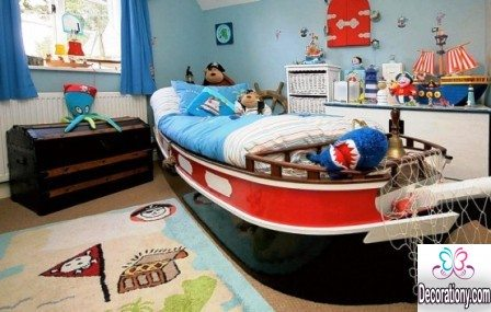 cool boys bed design