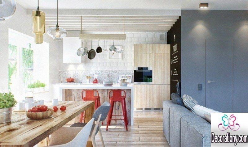 creative open kitchen