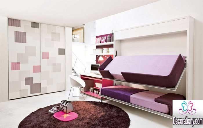 creative twins beds design