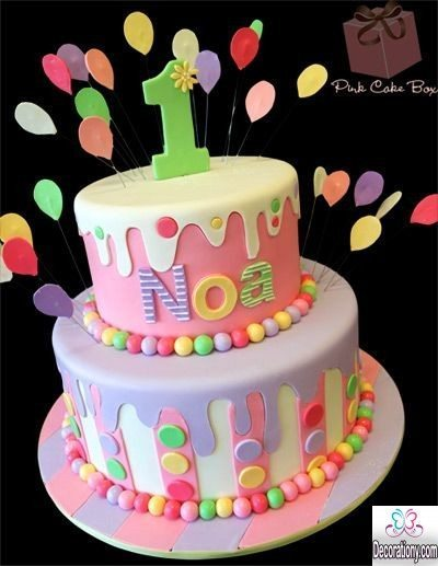 cute 1st birthday cakes for girls
