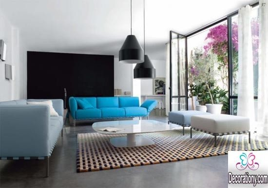 fashionable family living rooms