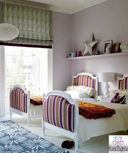 fluffy Twins room decor for girls