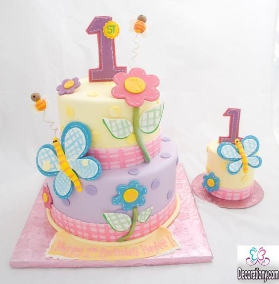 fluffy birthday cakes for kids