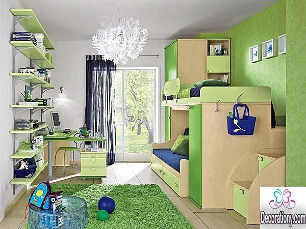 green kids room ideas
