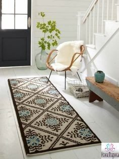 home entrance rug ideas
