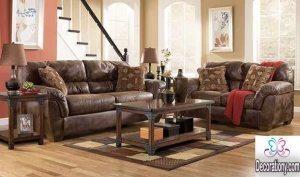 leather La-Z-Boy furniture