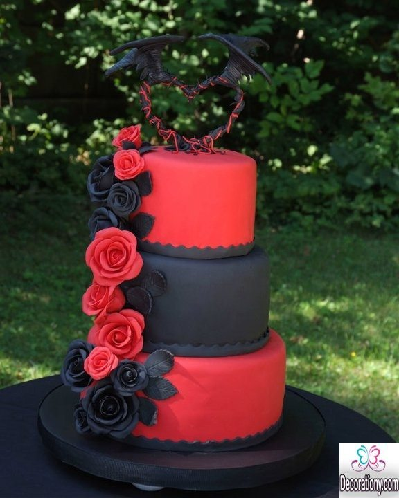 Birthday Cake Designs Love : 20 Romantic cake designs for wedding anniversary ...