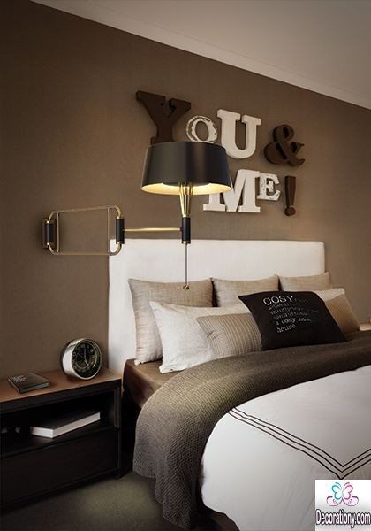 modern bedroom wall ideas