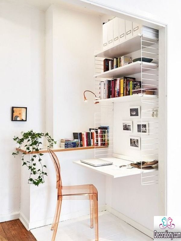 modern home workspace
