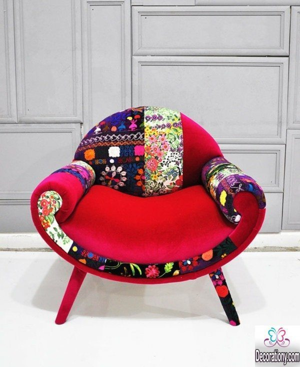 patchwork chairs design