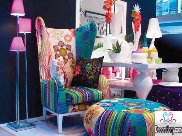 patchwork furniture set