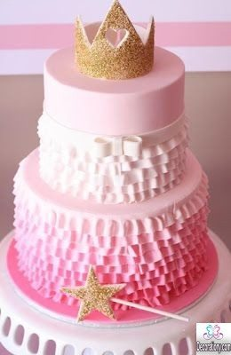 pink Tutu Princess birthday Cakes for girls