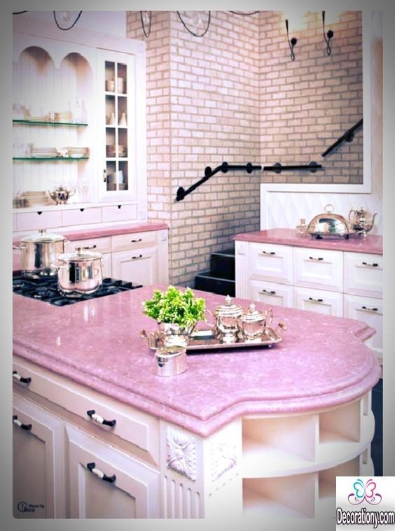 kitchen decorating ideas kitchen wall decorating ideas with pink color